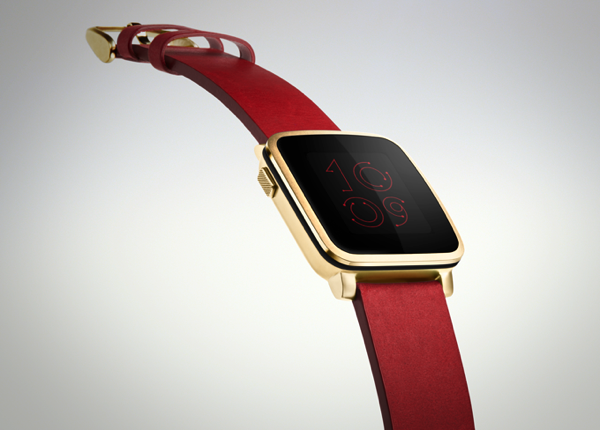 Steel Version of Pebble Time Announced  Looks Just Like Apple Watch