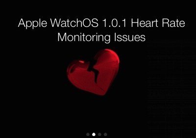 Apple Watch Heart Rate Monitoring Bug is A Feature Change