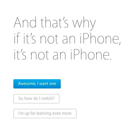 Apple's New 'Why iPhone' Campaign Page Goes Live 2