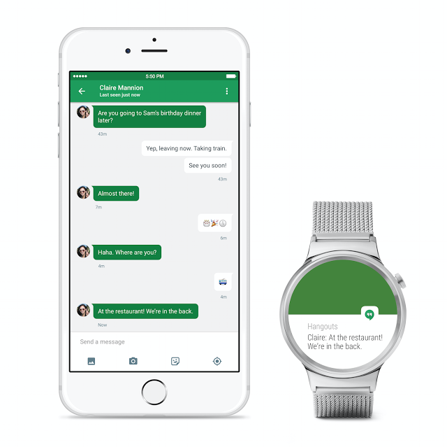 Android Wear with iPhone