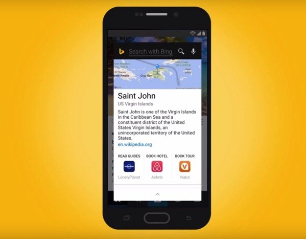 Bing Snapshots for Android