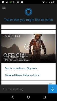 Cortana for Android released as a beta