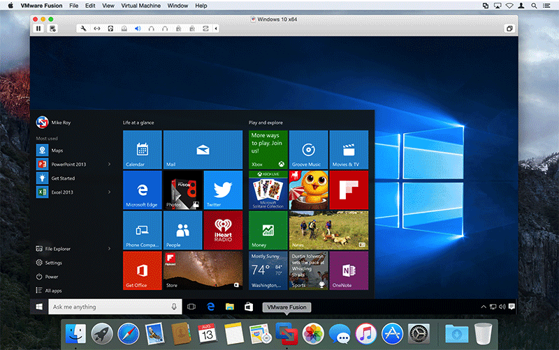 VMware Fusion and Workstation updated with support for Windows 10 on El Capitan