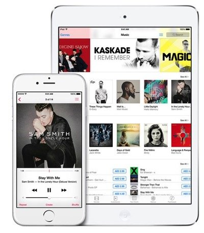 IOS 8 4 1 Released for iPhone iPad and iPod Touch With Apple Music Improvements