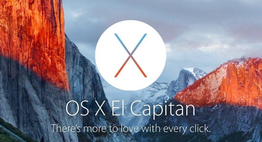 Download OS X 10.11 El Capitan