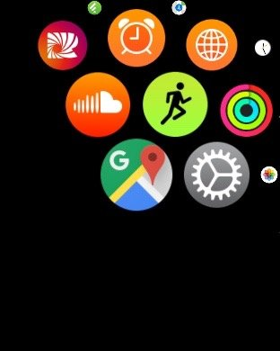 Google Maps Apple Watch 3