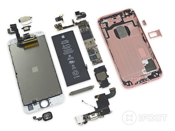 Inside the iPhone 6s and 6s Plus - iFixit teardown