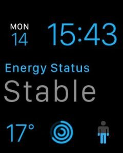 Lifesum WatchOS 2 app with complications