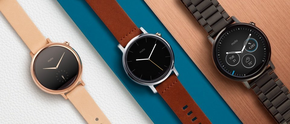 Moto 360 2015 announced - 2 sizes, 3 models like Apple Watch 2