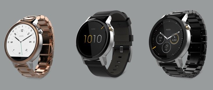 Moto 360 2015 announced - 2 sizes, 3 models like Apple Watch
