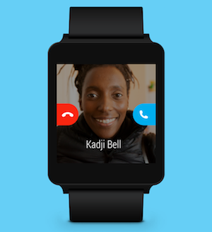 Skype 6.4 Android Wear 2
