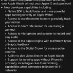 WatchOS 2 changelog 4