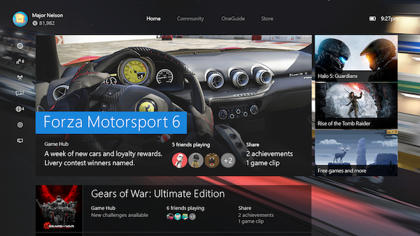 Xbox One Experience Preview