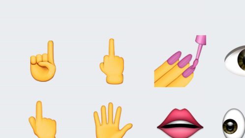 iOS 9.1 middle finger emoji
