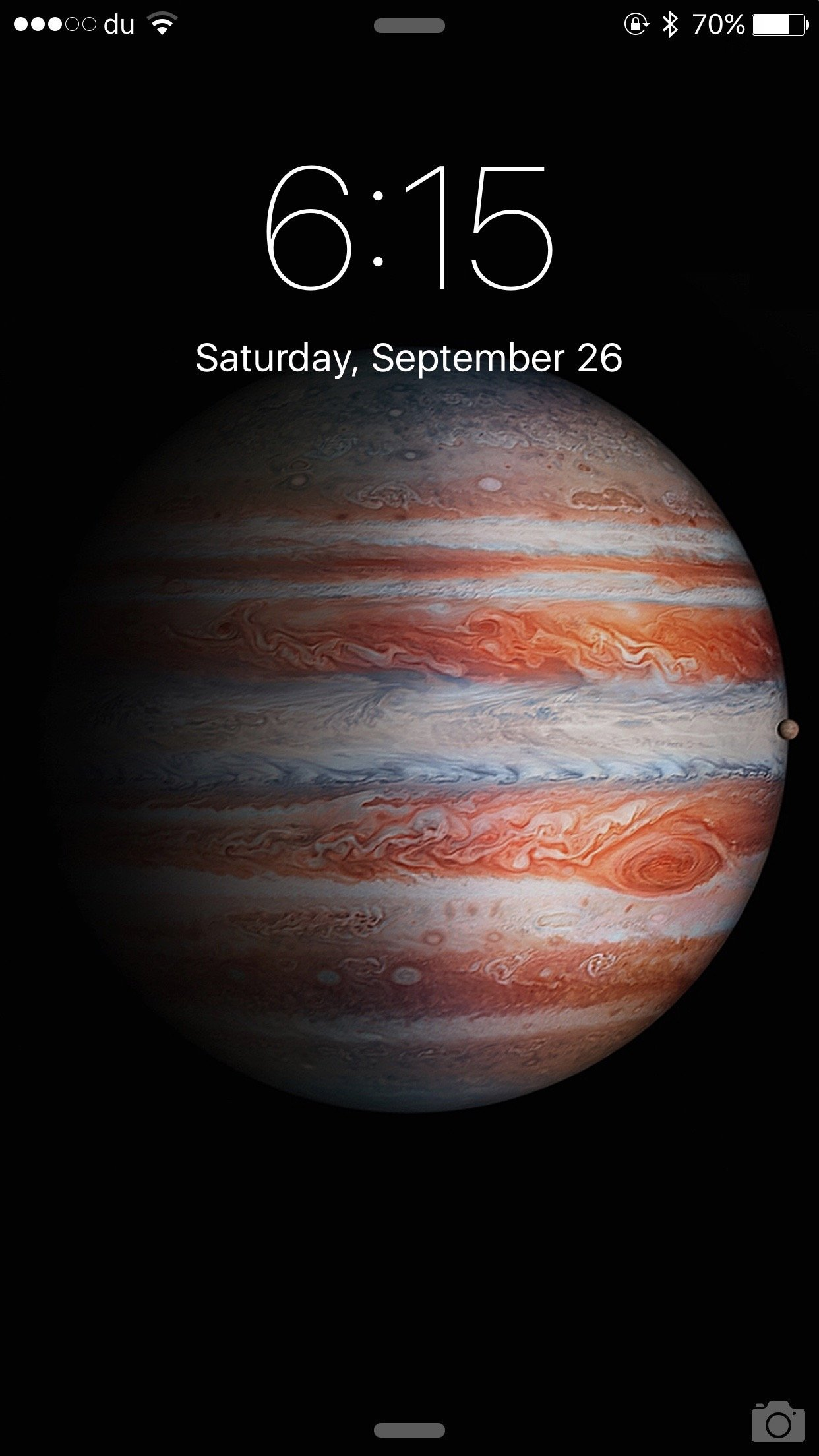 iPad Pro wallpaper on iPhone