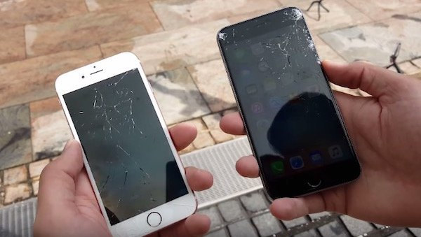 iPhone 6s and 6s Plus go through the drop test