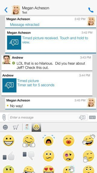 BBM gets iOS 9 support and Apple Watch app