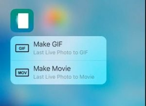 Convert Live Photos to GIF or video format with these apps