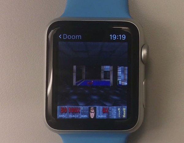Doom on Apple TV and Apple Watch