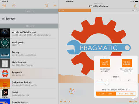 Overcast 2 for iOS goes free, gets streaming, audio improvements and more