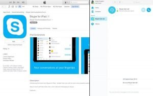 Skype updates for for El Capitan and iPad roll out