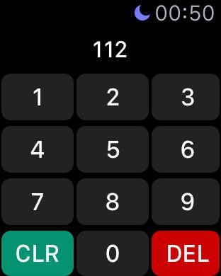 Watch Keypad app adds a phone dialer to Apple Watch 3