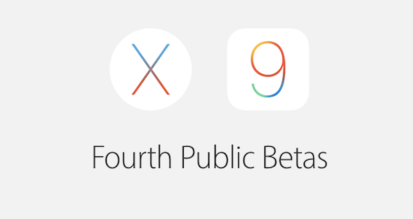OS X 10.11.4 and iOS 9.3 get fourth public beta releases