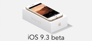 Apple releases fifth iOS 9.3 beta for developers and public testers