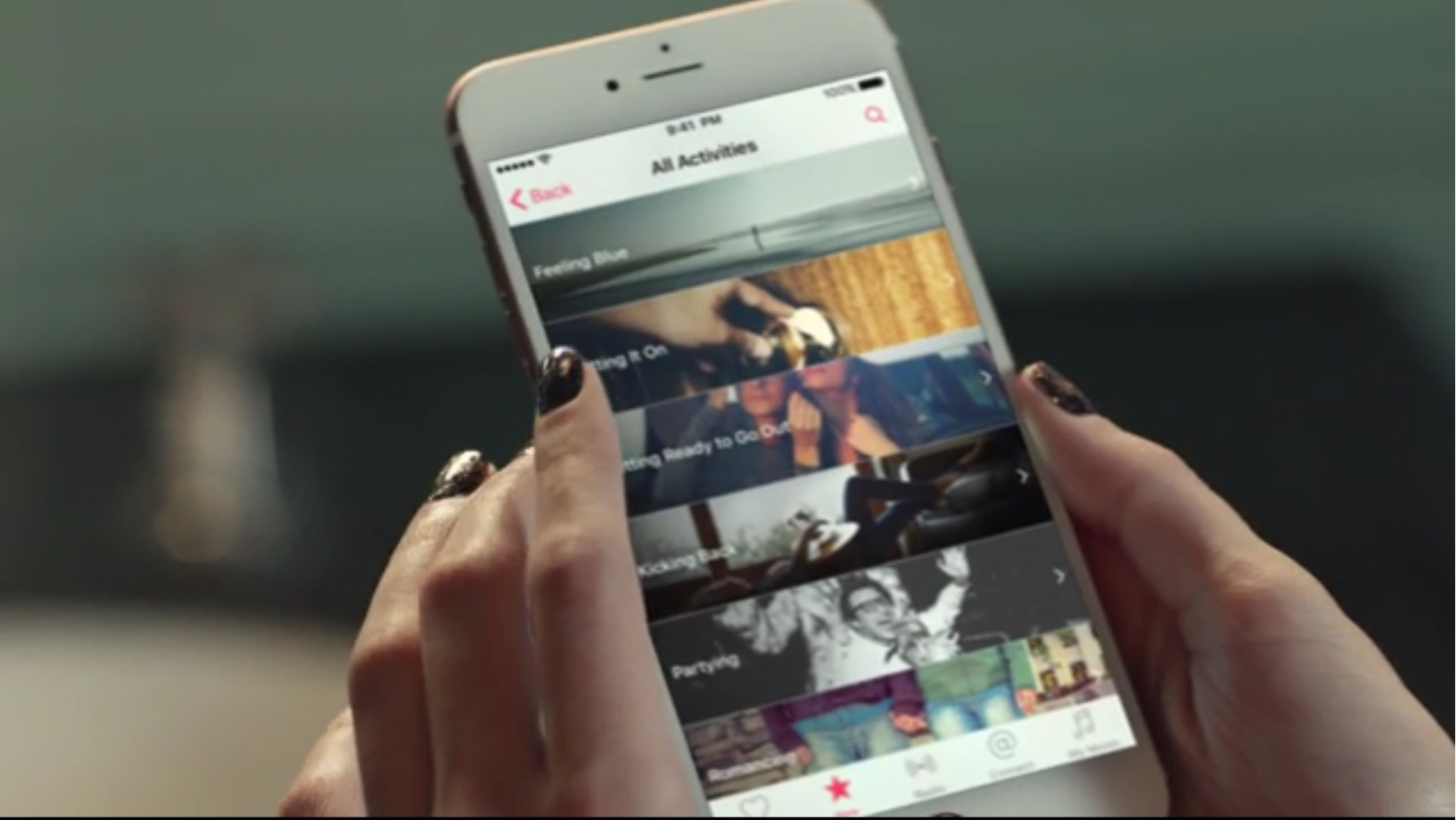 Taylor Swift Apple Music Ad