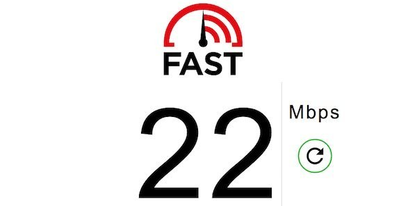 Fast is a new Internet speed test tool by Netflix