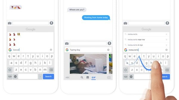 Google releases Gboard, keyboard for iPhone with search, GIF and glide typing