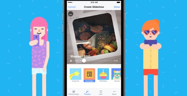 Facebook introduces Slideshow for iOS app