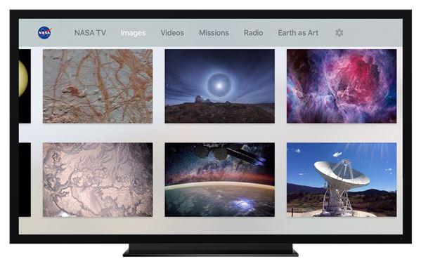 NASA Apple TV app