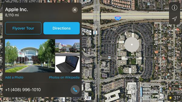 Apple Maps get Parkopedia's parking spots and other features