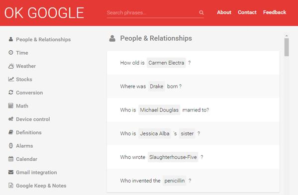 Here is everything you can do with Okay Google