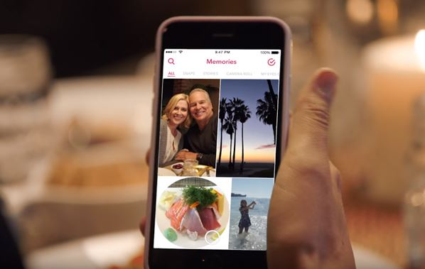 Introducing Snapchat Memories