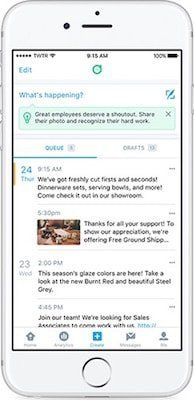 Twitter Dashboard released for iPhone with scheduled tweets, custom feed and tweet tips 1