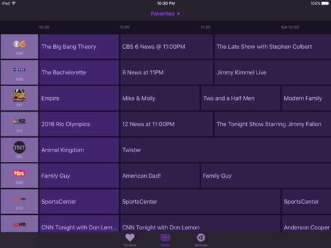 Channels app lets users stream live TV to iOS devices 3