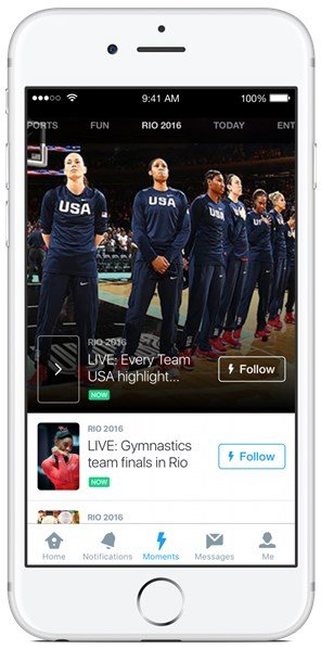 Follow Rio Olympics 2016 on Twitter, Periscope and Vine (2)