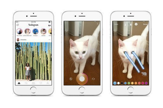 Instagram announces Snapchat Stories 1