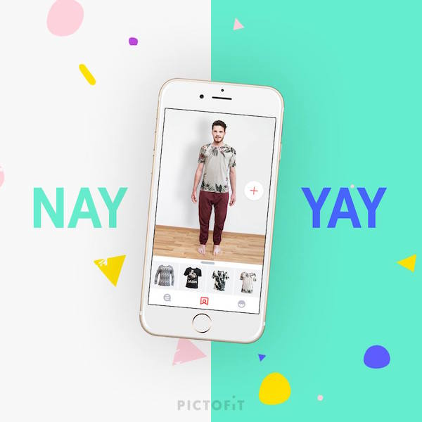 Pictofit for iOS lets users virtually try on clothes before buying