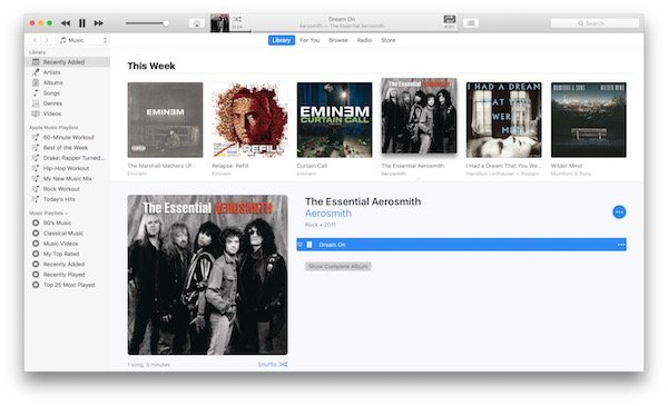 Apple Music lyrics in iTunes 1