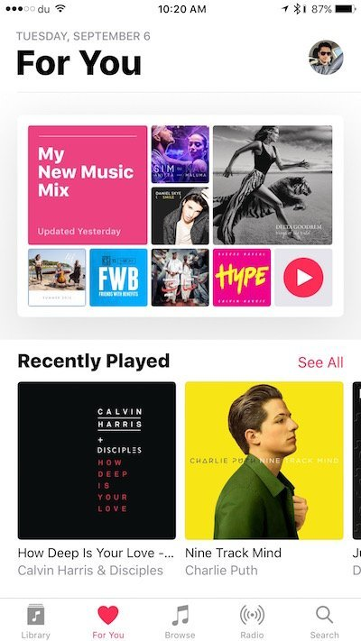 Apple Music mixes go live on iOS 10 and macOS 10.12 Sierra betas 2
