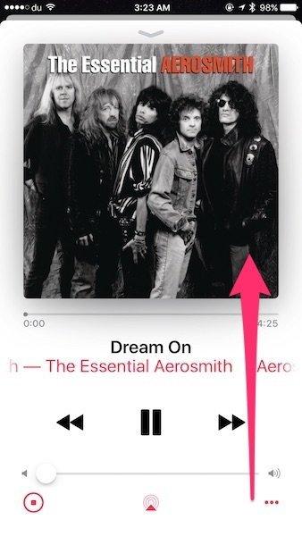 Lyrics in iOS 10 Apple Music 2
