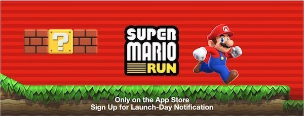 Super Mario Run for iOS announced by Apple and Nintendo 1