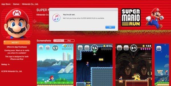 Super Mario Run for iOS announced by Apple and Nintendo 3