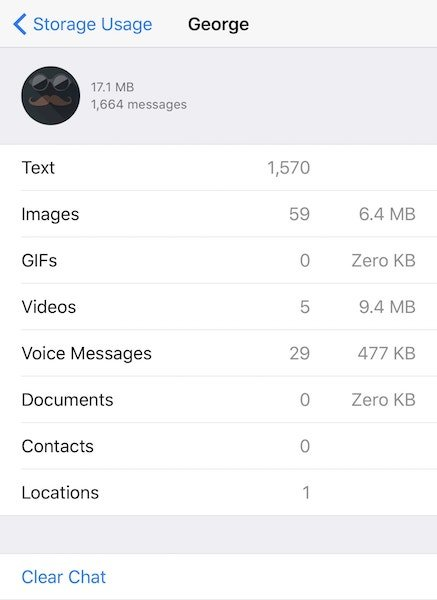 WhatsApp for iOS gets offline message queuing, redesigned storage management and more
