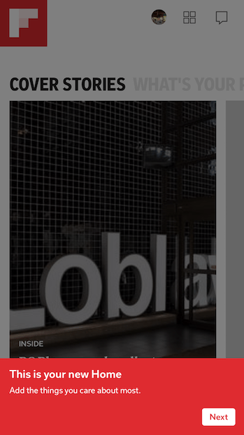Flipboard 4.0 released with new design and personalization features