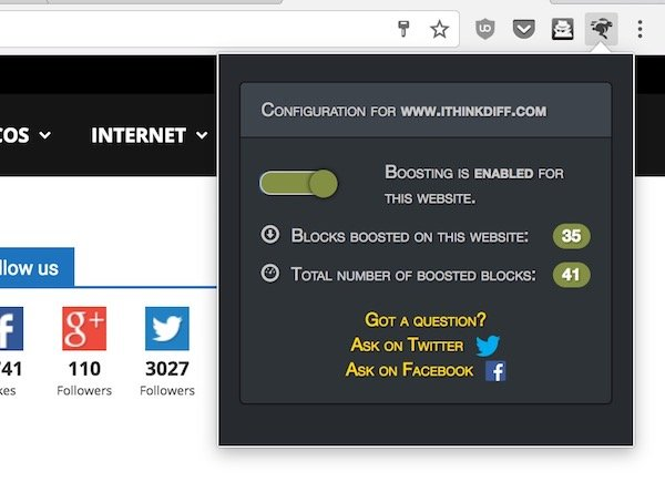 Web Boost for Chrome