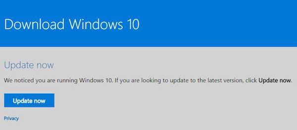 Windows 10 Creators Update Upgrade Assistant
